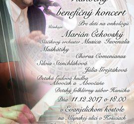 Vianočný benefičný koncert 2017