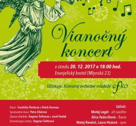 Vianočný koncert 20.12.2017